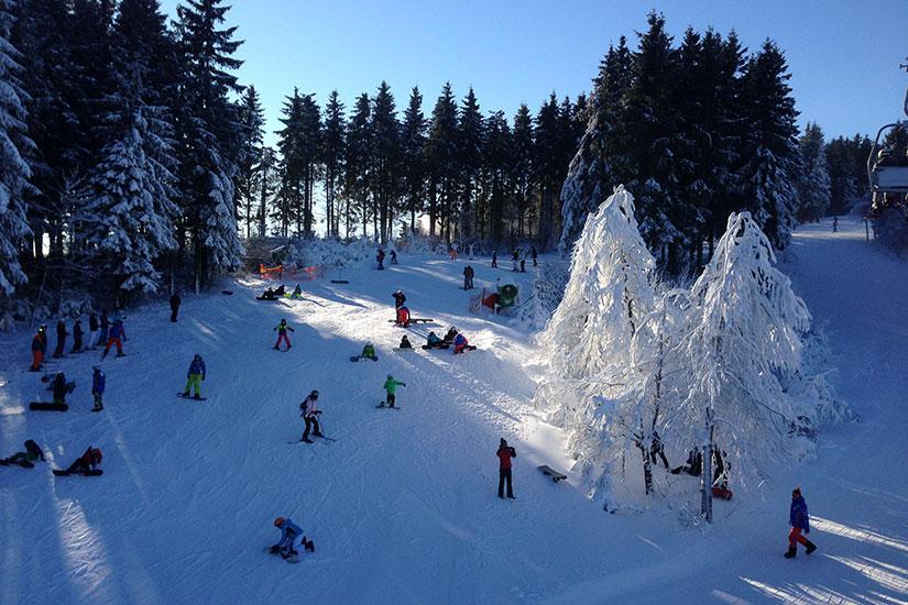 Skigebied Winterberg